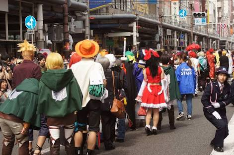 Cosplay Maker in Japan In english