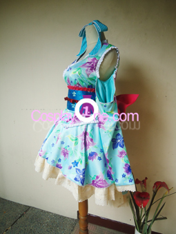 Eli Ayase from Love Live! Cosplay Costume side