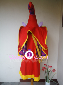 Lulu from League of Legends Cosplay Costume back