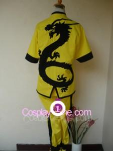 Yellow Dragon Fist Lee Sin Chroma back