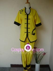 Yellow Dragon Fist Lee Sin Chroma front