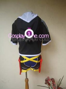 Sexy Sora Cosplay Costume back