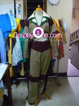 Alice Blackburn from Anime Cosplay Costume front prog