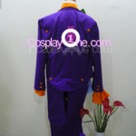 Joker for (Arkham Asylum) DC Comics Cosplay Costume back