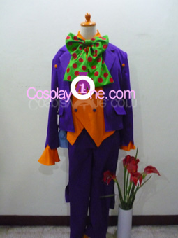 Joker for (Arkham Asylum) DC Comics Cosplay Costume front