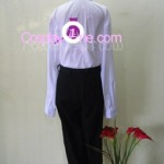 Kuroudo Akabane from GetBackers Cosplay Costume back in