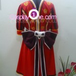 Alice from Kingdom Hearts Cosplay Costume back