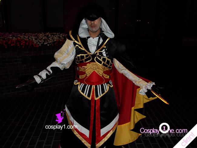 Client Photo 2 Altair of Armor from Assassins Creed Cosplay Costume