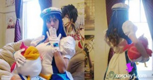 Arin from Pangya Cosplay Costume client4