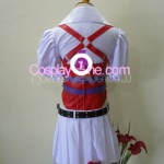 Harley Quinn from DC Comic Cosplay Costume back