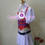 Harley Quinn from DC Comic Cosplay Costume side