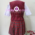 Asuna Kagurazaka from Negima Cosplay Costume back in