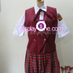 Asuna Kagurazaka from Negima Cosplay Costume front in