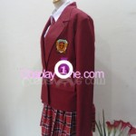 Asuna Kagurazaka from Negima Cosplay Costume side