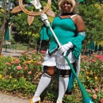 Client Photo Atoli from Anime Cosplay Costume standing