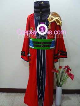 Auron from Final Fantasy X Cosplay Costume front R