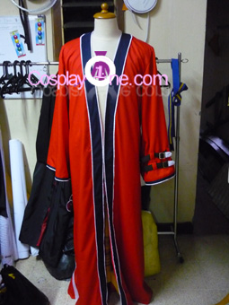 Auron from Final Fantasy X Cosplay Costume front prog