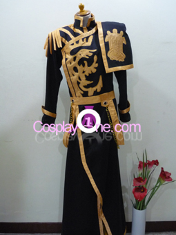Ayanami from 07-Ghost Cosplay Costume front