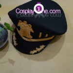 Ayanami from 07-Ghost Cosplay Costume hat