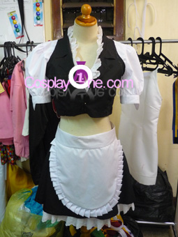 Ayane from Dead or Alive Cosplay Costume front prog