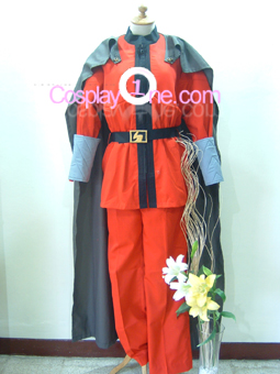 M. Bison from Street Fighter Cosplay Costume front version 1