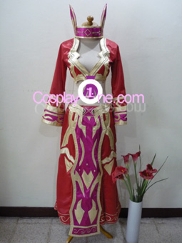 Blood Elf Priest from World of Warcraft Cosplay Costume front