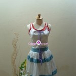 Aerith Gainsborough from Final Fantasy VII Cosplay Costume front R