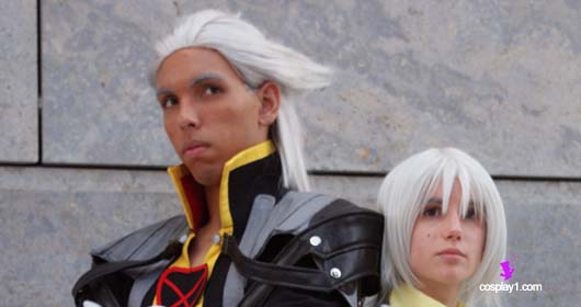 Client Photo Ansem from Kingdom Hearts Cosplay Costume banner