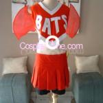 Bats Cheerleader Cosplay Costume front