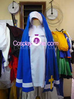Bridget 2 from Guilty Gear Cosplay Costume front prog