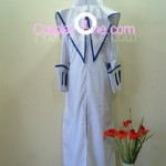 Captain Bravo from Anime Cosplay Costume back