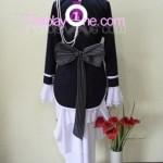 Ciel Phantomhive Black from Black Butler Cosplay Costume back