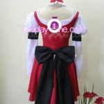 C.C. from Code Geass Cosplay Costume back