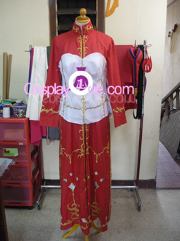 Caterina Sforza from Trinity Blood Cosplay Costume front prog