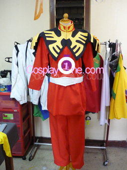 Char Aznable from Mobile Suit Gundam Cosplay Costume front prog
