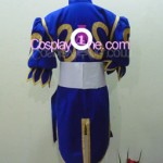 Chun Li from Street Fighter Cosplay Costume back