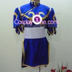Chun Li from Street Fighter Cosplay Costume front