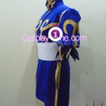 Chun Li from Street Fighter Cosplay Costume side