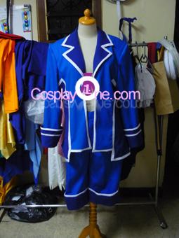Ciel Phantomhive from Black Butler Cosplay Costume front prog
