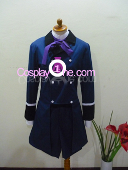 Ciel Phantomhive Blue from Black Butler Cosplay Costume front in