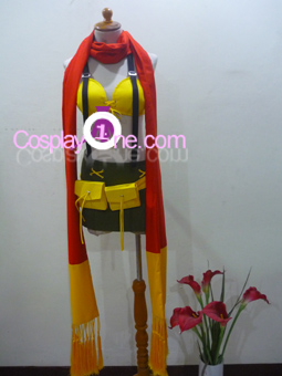 Rikku from Final Fantasy X Cosplay Costume front