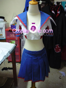 Sailor Venus from Sailor Moon Cosplay Costume front prog