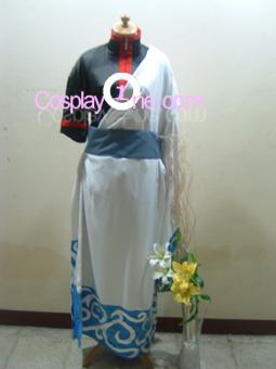 Gintoki Sakata from Gin Tama Cosplay Costume front2