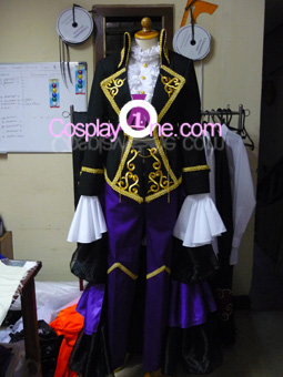 Sandplay of The Singing Dragon Cosplay Costume front prog