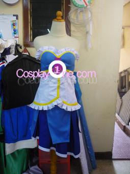 Sayaka Miki from Puella Magi Madoka Magica Cosplay Costume front prog