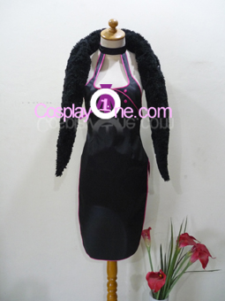 Shiina from Ace Attorney Cosplay Costume front