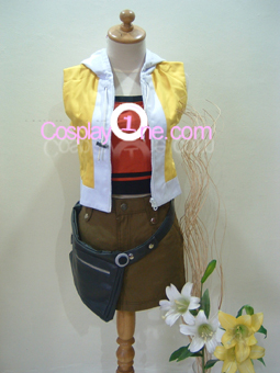 Shiki Misaki from The World Ends Cosplay Costume front