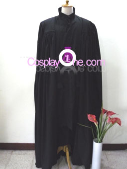 Professor Severus Snape from Harry Potter Cosplay Costume front