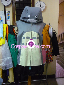 Totoro Hoodie from Anime Cosplay Costume front prog