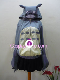 Totoro Hoodie from Anime Cosplay Costume front
